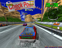 - One of the best arcade driving games from the 90s.