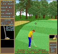 - Fore!  Golfing fun in the arcade.