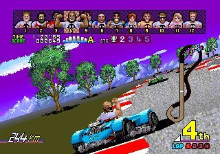 - Classic racing game from Sega.
