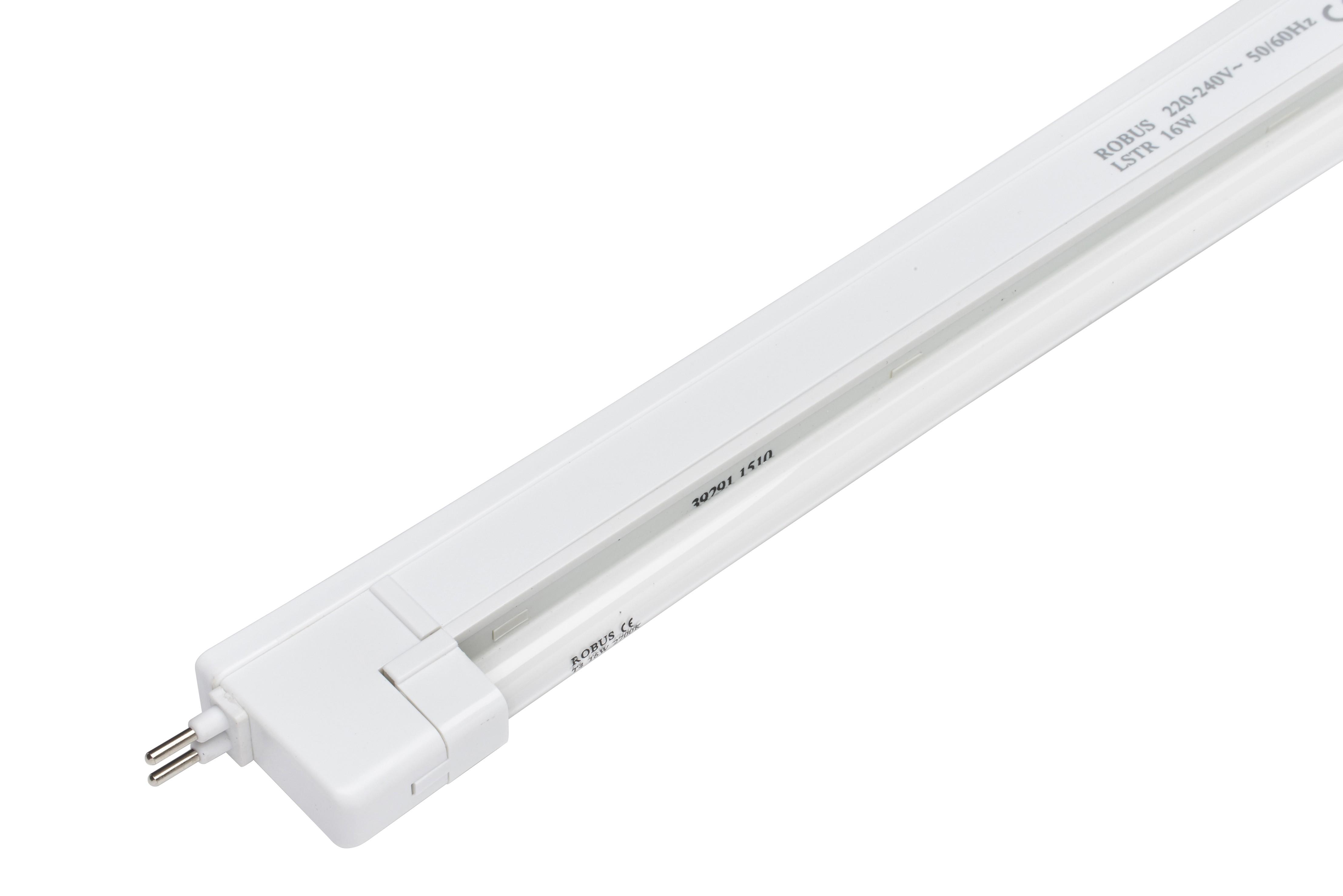 Marquee Light Fitting - Fluorescent Slim Style 400mm 16watt White - 240v only